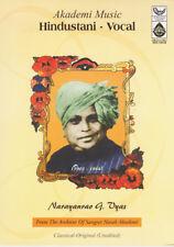 Hindustani Vocal - Narayanrao Vyas  (Master Muscians of India) Music Audio CD