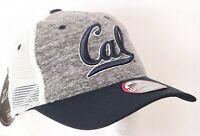 NEW University of California Golden Bears  Zephyr Cal Snapback Mesh Hat Women's