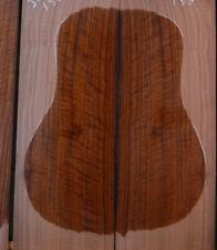 fiddleback curly black walnut tonewood guitar luthier set back and sides