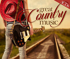 CD Great Country Music von Various Artists  3CDs