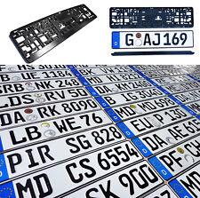 ORIGINAL German License Plate Mazda Acura Audi BMW Mercedes-Benz Porsche VW Fiat