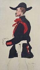 Jacques VILLON (d'après) -  Le colonel - Croquis signé  #1959