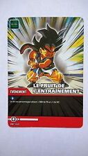 Carte Dragon ball Z Le Fruit De L'Entraînement DB-560