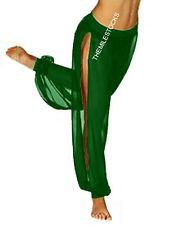 TMS Slit Harem Yoga Pants Belly Dance Gypsy Costume Tribal Pantalons | 25 Colors