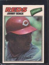 1977 Topps Johnny Bench #3 Baseball Card