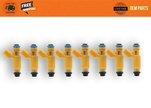 8X Genuine Flow Matched Fuel Injectors Land Rover Range Rover: 2006 -09
