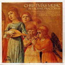 DAVID HILL - MICHAEL PRAETORIUS christmas music HYPERION LP NM