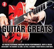 GUITAR GREATS (DICK DALE, THE FIREBALLS, CHUCK BERRY, B.B.KING, ...) 3 CD NEUF