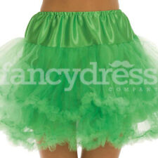 Green Underskirt Moulin Rouge Ruffle Tutu Bustle Burlesque Hen Night Party