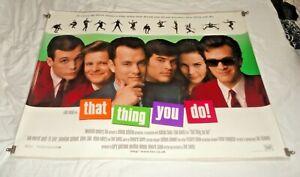 That Thing You Do Original UK Quad Movie Cinema Poster 1996 Tom Hanks