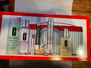 Best of Clinique Holiday Kit 7 Full Size items $234.50 NIB Moisturizer & more!