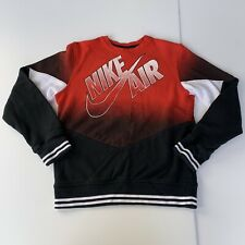 Vtg Nike Air Swoosh Logo Sweatshirt Tshirt Long Sleeve Jordan Era Basketball S