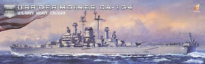 Very Fire VF350918 US Heavy Cruiser Des Moines 1/350 Scale Plastic Model Kit