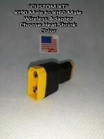 Wireless Parallel Adapter {Choose Heat Shrink Color} Xt90 Male to Xt60 Female