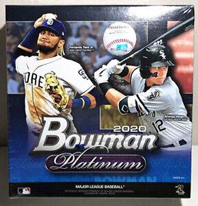 Bowman Platinum 2020 Baseball Mega Box Factory Sealed 2 Parallels 1 Auto MLB New