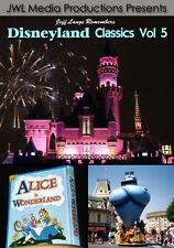 Disneyland Vintage DVD Aladdin Parade, Pinocchio, Alice, Railroad, Fireworks