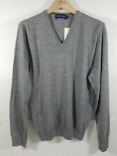 New Men's Ralph Lauren Golf, Merino Wool V-neck Sweater, Size M -Tailored Fit