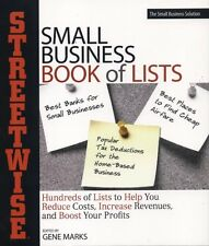 NEW BOOK  Streetwise Small Business Book of Lists by Gene Marks