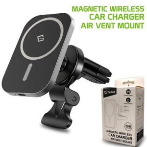 Cellet Magnetic Air Vent Wireless Charger Phone Mount For iPhone 12 Series ONLY