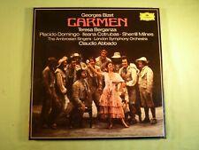 Georges Bizet - Carmen - Caludio Abbado  - Deutsche Grammophon 3 LP Box Set