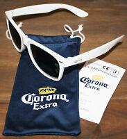 Corona Extra Bier Sonnenbrille mit Brillenetui NEU OVP UV 400 weiß beer