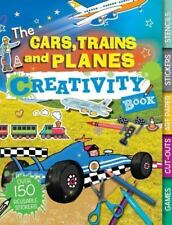 The Cars, Trains, and Planes Creativity Book: Games, Cut-Outs, Art Paper, Sticke