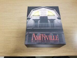 Amityville: The Cursed Collection Box Set Vinegar Snydrome complete w/box 4 disc
