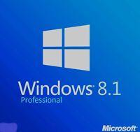 Windows 8.1 Professional VOLLVERSION 32 BIT 64 BIT win 8.1 pro key