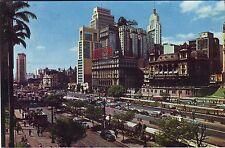 Brazil Brasil Sao Paulo - Vale do Anhangabau 1964 Cover Clearwater FL postcard