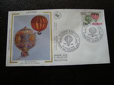 ANDORRE (francais) - enveloppe 1er jour 26/2/1983 (air/espace) (cy63) andorra(E)