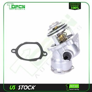 Engine Coolant Thermostat Housing Cover MTC 86-93 For Mercedes 300E 3.0L