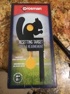 Crosman Resetting Squirrel Target