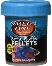 Omega One Betta Buffet Pellets 1 oz 25 grams