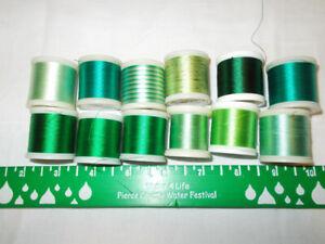 12  Spools Madeira Thread New Rayon Viscose Sewing Embroidery Bernina Viking