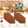 64tlg. Puzzlematte Kinderteppich Spielteppich Spielmatte Schaumstoffmatte