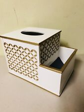 Ceramic Facial Tissue Dispenser Box Paper Dispenser Box Tissue Holder Organizer