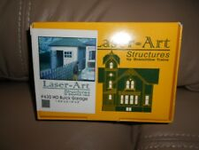 LASER ART STRUCTURES       BUICK GARAGE        FACTORY SEALED      HO SCALE