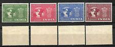 INDIA STAMPS 1949 UPU SET Sc.#223-226, MLH