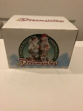 Dreamsicles Christmas Eve-Limited Edition #851/5000 Santa Making Up His Route!