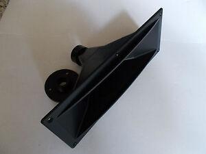"""INNOVA 1"""" BOLT - ON OR SCREW - ON 12"""" x 4.5"""" SPEAKER  HORN FLARE LENS ( FLANGED)"""