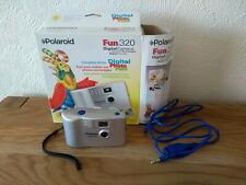 Polaroid Fun 320 Digital Camera Boxed w/ Serial Cable 320 x 240 2000 VGC VTG UK
