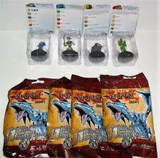 HEROCLIX YU-GI-OH SERIES 1 LOT OF (4) CARDS ARE DAMAGED #B JUST AS PICTURED