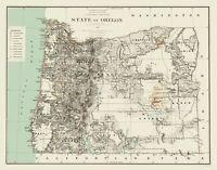 Oregon - Bien 1879 - 23.00 x 29.34