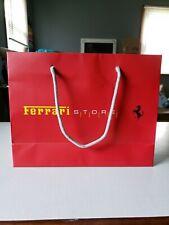 """Authentic Ferrari Store Gift Bag - 11"""" x 8"""""""