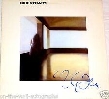 MARK KNOPFLER DIRE STRAITS HAND SIGNED AUTOGRAPHED SELF TITLED ALBUM! PROOF+COA!