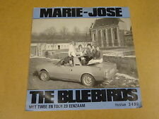 45T SINGLE WITH CAR COVER / THE BLUEBIRDS - MARIE-JOSE