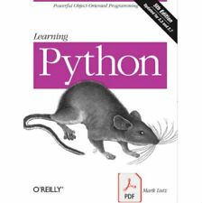 Learning Python Poweful Object-Oriented Programming 5th Edition (Digital, 2013)