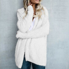Oversized Womens Long Sleeve Ladies Knitted Sweater Jumper Cardigan Outwear Coat
