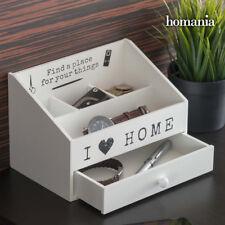 Organizador I Love Home blanco Decoración hogar madera