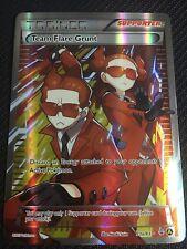 Pokemon TCG : PREMIUM TRAINER COLLECTION TEAM FLARE GRUNT 73a/83 FULL ART